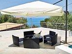 Villa Mercadante: outdoor patio
