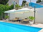 Villa Mercadante: private swimming pool