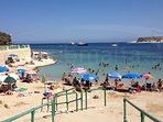 St Thomas bay area beach