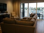 Enjoy watching 1 of 5  Flat Screen TV's in the Town Home while enjoying the gorgeous view