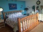 Master bedroom - King bed - great views!