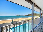 'Absolute Beachfront with Pool'