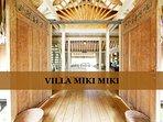 MOOREA - Villa Miki Miki 16 pax
