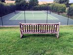 Tennis court built in 2016 - you are welcome to use this for tennis only please!