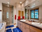 Grizzly Bear Master Ensuite Bathroom