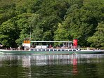 The elegant 'Raven' cruising Ullswater