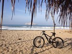 Mountain bike routes near by, like Peña Blanca, with spectacular views.