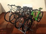 4 bikes to the clients! For free!