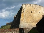 San Cristobal is the largest Spanish fort in the Caribbean, right across the street from us