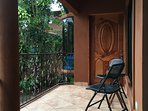 This is your private porch and entrance to your Casita.