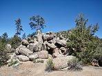 The rocks 5 min. hike
