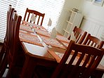 dining room with 6 seats