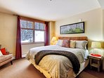 Master bedroom with new King bed.