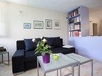 Living room, traditional stone house, house Tea, Pucisca, Brac Island