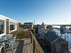 Views Across the Picturesque Upper Harbor and Menemsha Pond