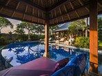 A cozy Balinese Gazebo