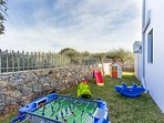 Our young guests will have hours of endless fun in the playground!