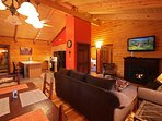 Catskill Region Vacation Log Home Rental