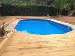 piscine partagée