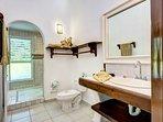 the suite's bathroom