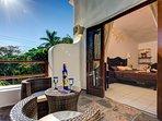 the suite's terrace