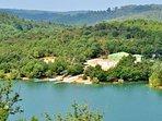 St Cassien lake 35km - 30min