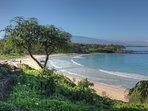 Fabulous Mauna Kea Beach a short drive