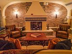 Have a glass of wine in La Cava, a cozy underground wine cellar.