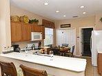 Indoors, Kitchen, Room, Sink, Fridge