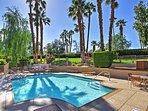 Beat the California heat by splashing around in the community pool.