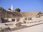 Paphos Odeon is within the Paphos Archaeological Park next to the harbour