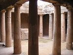 Soak up the atmosphere at the mysterious Tombs of the Kings - a 15 minute bus ride away