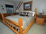 Master Bedroom - Pillowtop King Size Bed, Private Full Bath