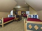 Third floor twin beds