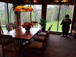 Family room dining table.