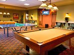 Enjoy some friendly competition in the resort game room