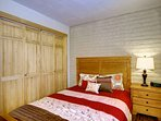 The Queen Bedroom Also Offers Lots of Closet Space