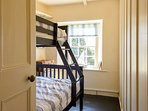 Triple bunk is great for kids