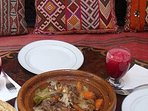 One of the riad's dishes