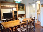 living room kitchenette