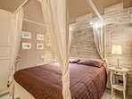 The fourth bedroom..a suite with bathroom, air conditioning, air extractor and tv lcd