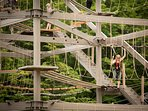 Ropes course at Killington Adventure center