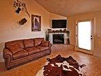 Living Area | Sleeper Sofa