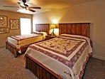 Bedroom #3 | Two Queen Size Beds