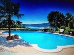 Summer at Lake Vico near Rome