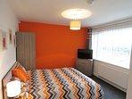 The Orange Room, with en-suite shower room