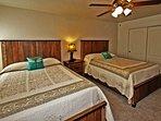 Bedroom #3   Two Queen Size Beds