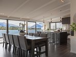 Enjoy views to the The Remarkables Mountain Ranges and Lake Wakatipu.