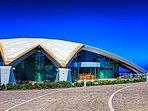 National Aquarium 15 minutes walk away along the promenade