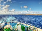 Ferry to Gozo 25 minutes crossing from Malta